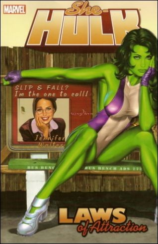 Couverture de She-Hulk (2005) -INT04- Laws of attraction