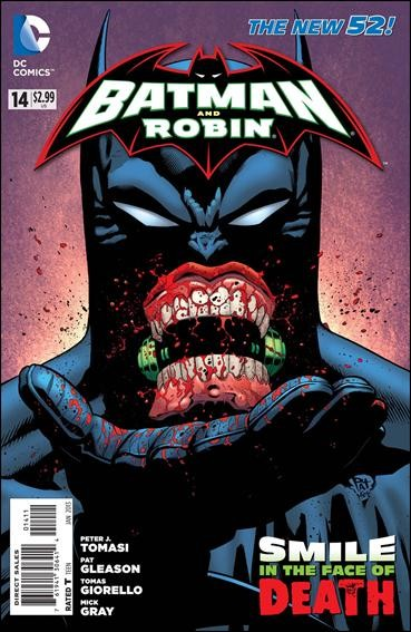 Couverture de Batman and Robin (2011) -14- Eclipsed
