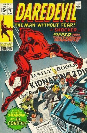 Couverture de Daredevil (1964) -75- Now rides the ghost of El Condor !