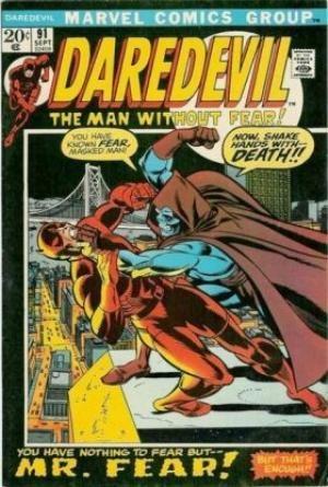 Couverture de Daredevil (1964) -91- Fear is the key!