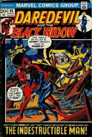 Couverture de Daredevil Vol. 1 (Marvel - 1964) -93- A power corrupt!