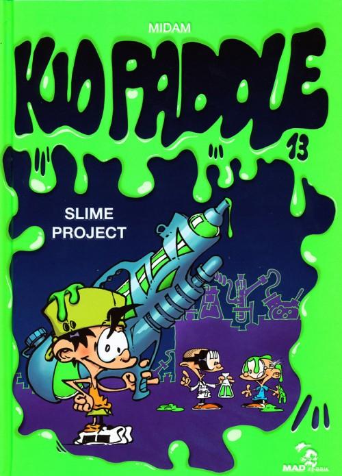 Couverture de Kid Paddle -13- Slime Project