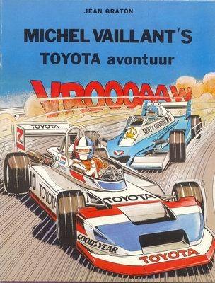 Couverture de Michel Vaillant -03Pub- Toyota avontuur