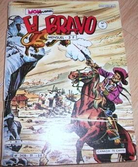 Couverture de El Bravo (Mon Journal) -31- Le mort sous la neige