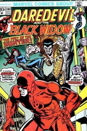 Couverture de Daredevil Vol. 1 (Marvel - 1964) -104- Prey of the Hunter!