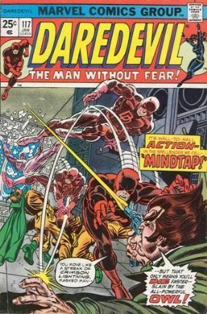 Couverture de Daredevil (1964) -117- Mindtap!