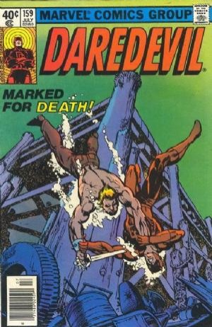 Couverture de Daredevil (1964) -159- Marked for Murder!