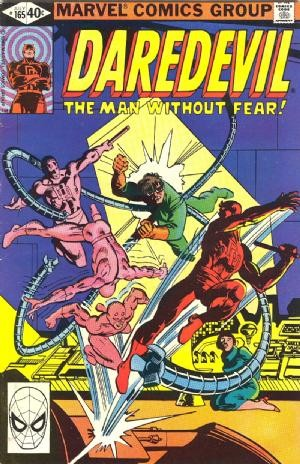 Couverture de Daredevil (1964) -165- Arms of the Octopus!
