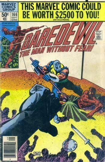 Couverture de Daredevil (1964) -166- Till death do us part!