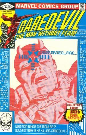 Couverture de Daredevil (1964) -167- … The mauler!