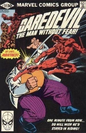 Couverture de Daredevil (1964) -171- In the Kingpin's clutches!