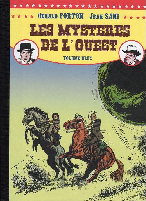 Couverture de Les mystères de l'Ouest -Pir Int2- Intégrale - Volume 2