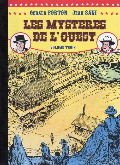 Couverture de Les mystères de l'Ouest -Pir Int3- Intégrale - Volume 3