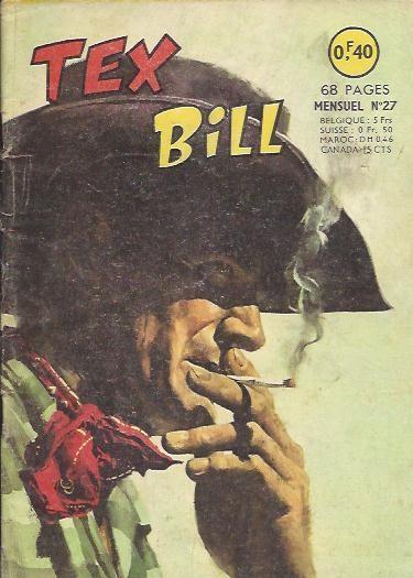 Couverture de Tex Bill -27- La revanche de Tex Bill