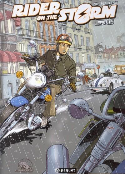 Couverture de Rider on the storm -1- Bruxelles