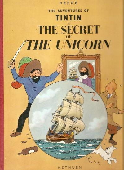 Couverture de Tintin (The Adventures of) -11- The Secret of the Unicorn