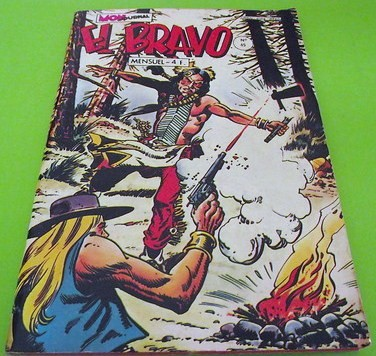 Couverture de El Bravo (Mon Journal) -45- Le soir des trafiquants