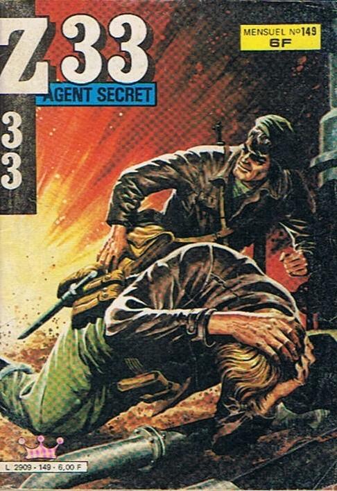 Couverture de Z33 agent secret -149- Chimères insensées