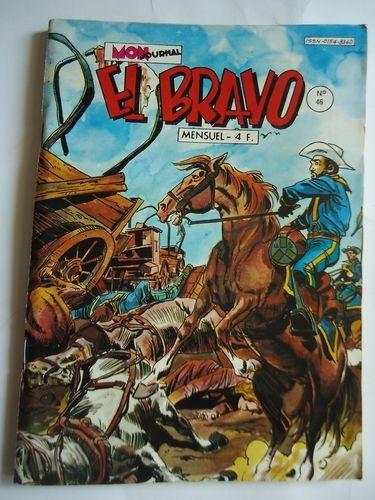 Couverture de El Bravo (Mon Journal) -46- Deux belles canailles