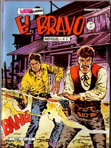 Couverture de El Bravo (Mon Journal) -47- Le retour de Marvin Lodd