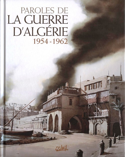 Couverture de Paroles de la guerre d'Algérie 1954-1962