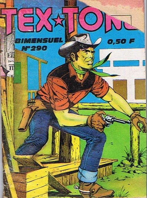 Couverture de Tex-Tone -290- Les deux joueurs