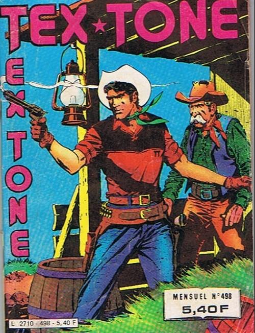Couverture de Tex-Tone -498- Un fou convaincant