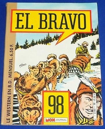 Couverture de El Bravo (Mon Journal) -98- Chasse au trésor sudiste