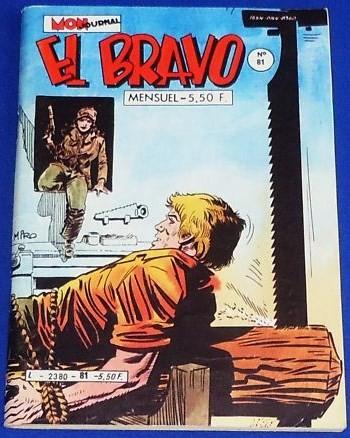 Couverture de El Bravo (Mon Journal) -81- Duel pour une ombre