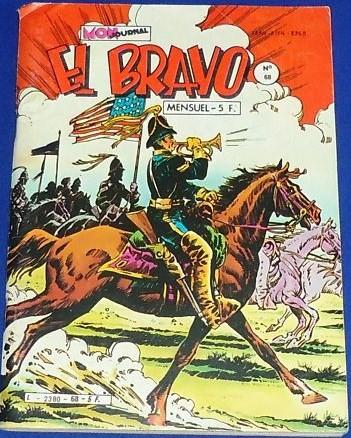 Couverture de El Bravo (Mon Journal) -68- La route de la grande médecine