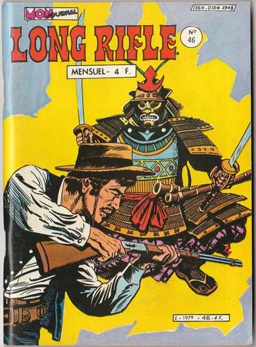 Couverture de Long Rifle -46- Les pirates du fleuve