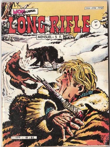 Couverture de Long Rifle -49- L'infernale nuit
