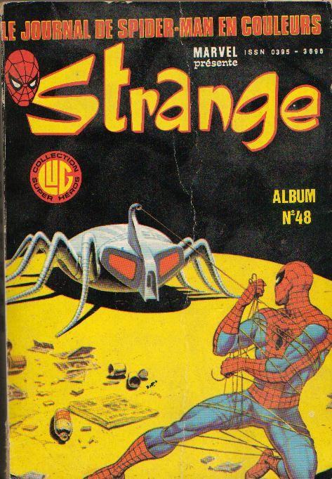 Couverture de Strange -Rec048- Album N°48 (du n°143 au n°145)