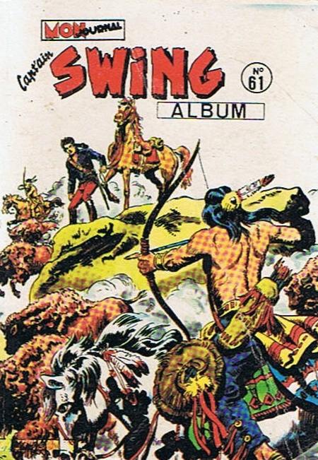 Couverture de Capt'ain Swing! (1re série) -Rec061- Album N°61 (du n°213 au n°215)