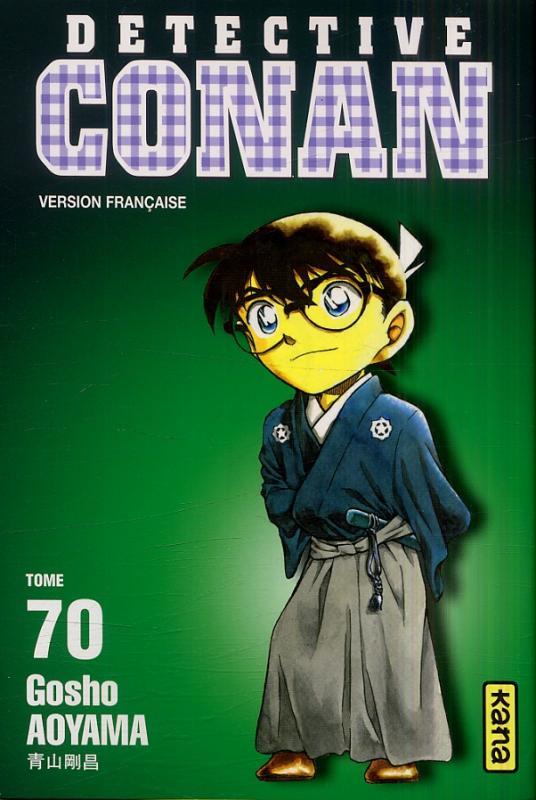 Couverture de Détective Conan -70- Tome 70