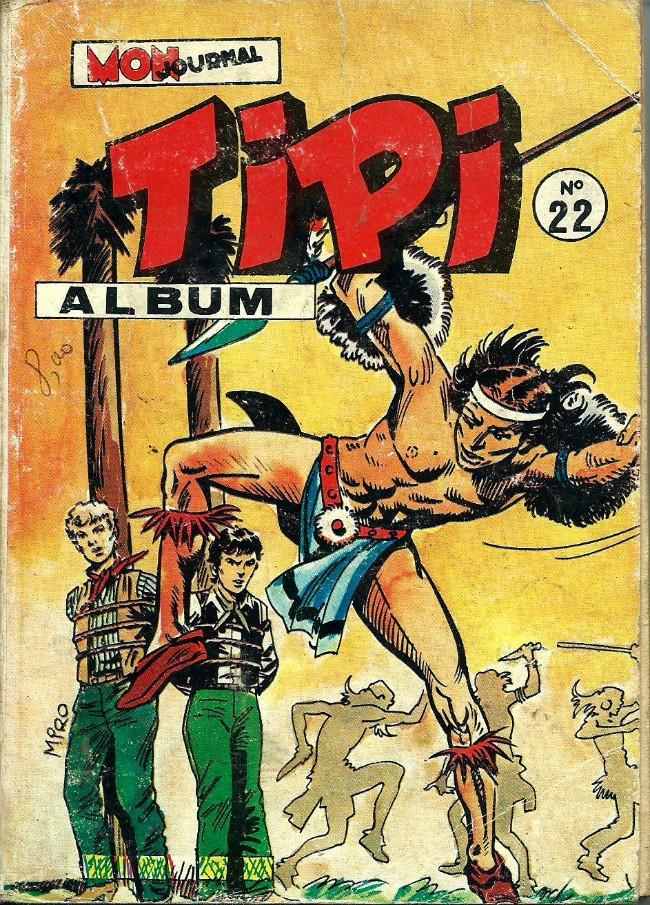 Couverture de Tipi -Rec22- Album N°22 (du n°64 au n°66)