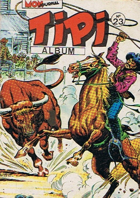 Couverture de Tipi -Rec23- Album N°23 (du n°67 au n°69)