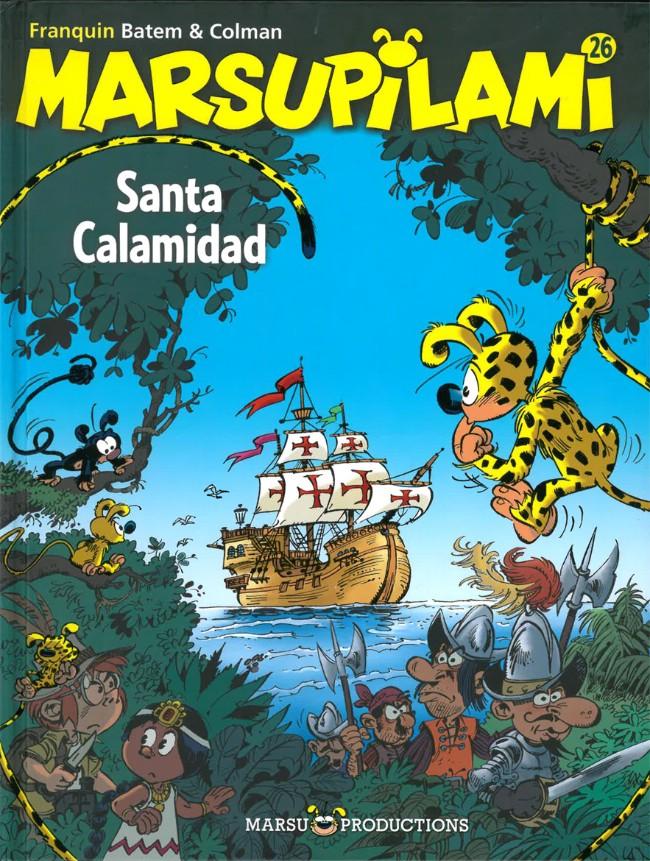Couverture de Marsupilami -26- Santa Calamidad