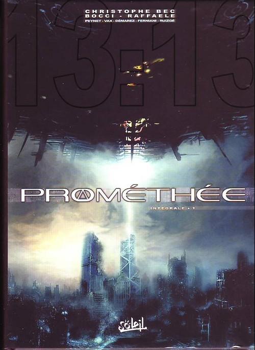 Couverture de Prométhée -INT1- Intégrale 1