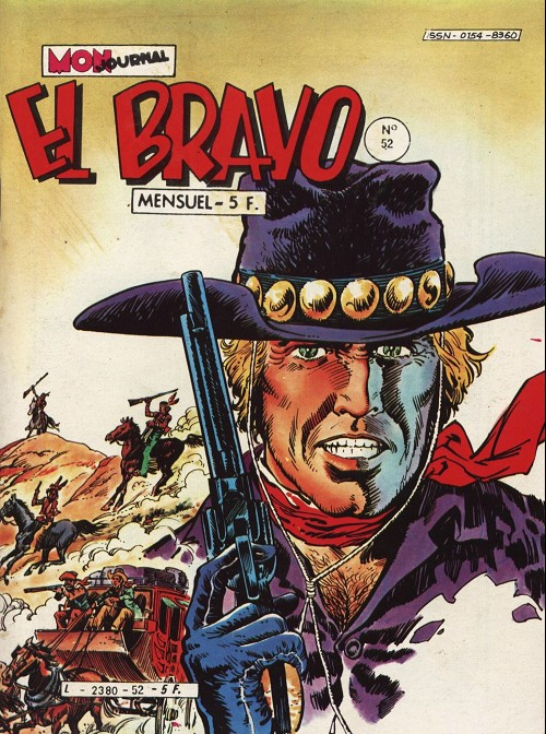 Couverture de El Bravo (Mon Journal) -52- Haine implacable
