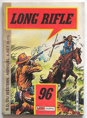 Couverture de Long Rifle -96- Le dernier des Navajos