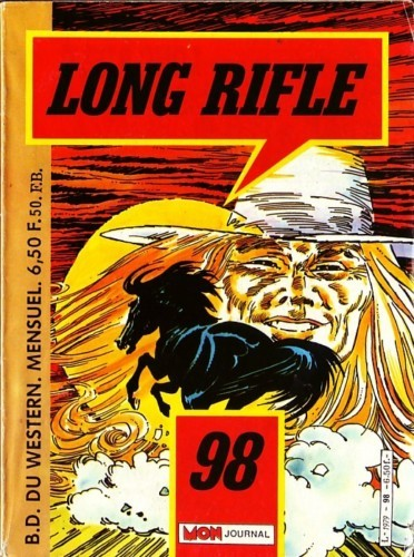 Couverture de Long Rifle -98- L'étalon noir