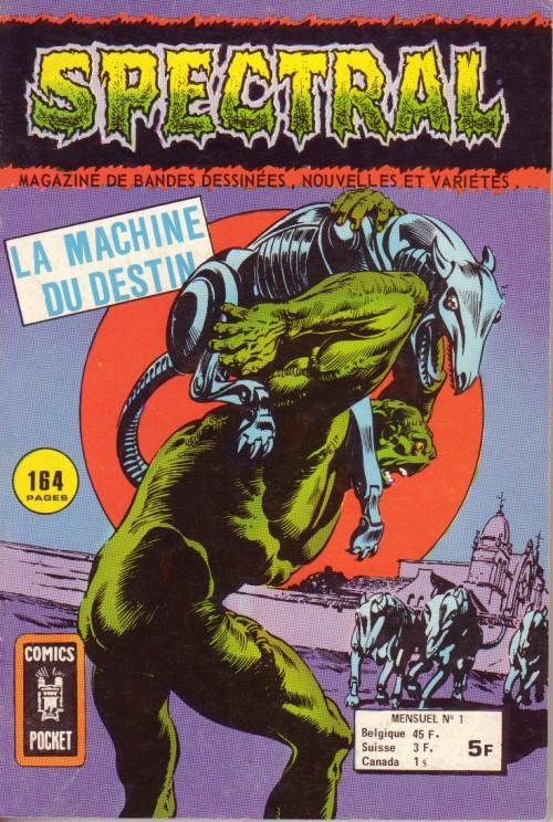 Couverture de Spectral (2e série) -1- La machine du destin