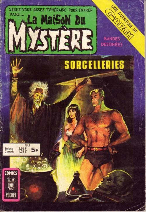 Couverture de La maison du Mystère (Arédit) -9- Sorcelleries