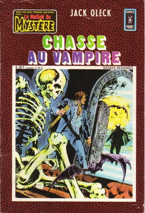 Couverture de La maison du Mystère (Arédit) -21- Chasse au vampire