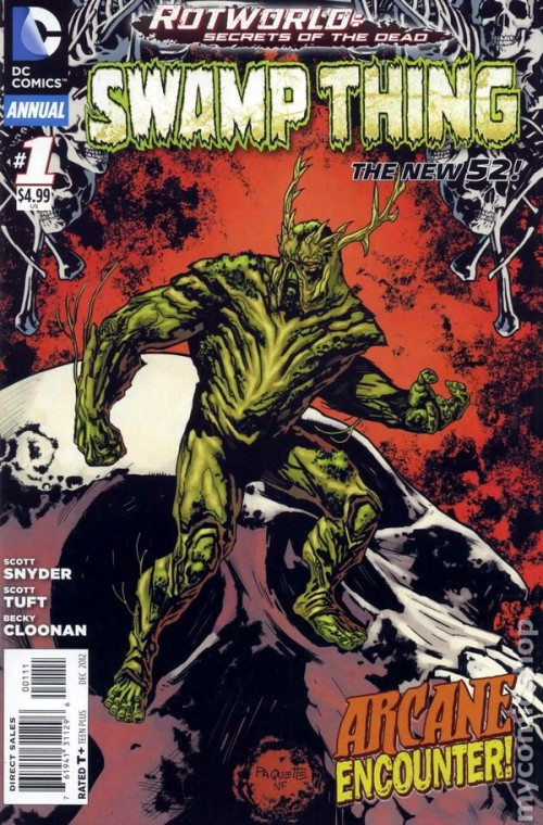 Couverture de Swamp Thing (2011) -AN01- Annual 2012