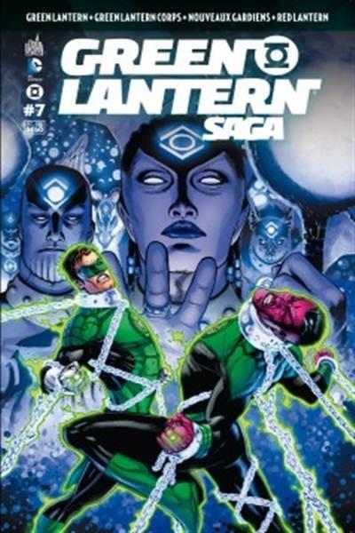 Couverture de Green Lantern Saga -7- Numéro 7