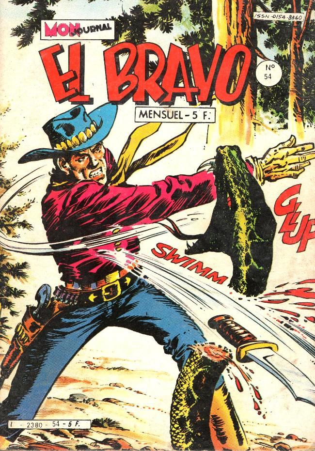 Couverture de El Bravo (Mon Journal) -54- Le rodéo démoniaque