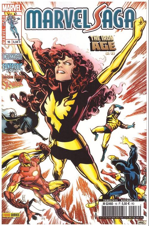 Couverture de Marvel Saga (1re série - 2009) -16- The Iron Age 2/2