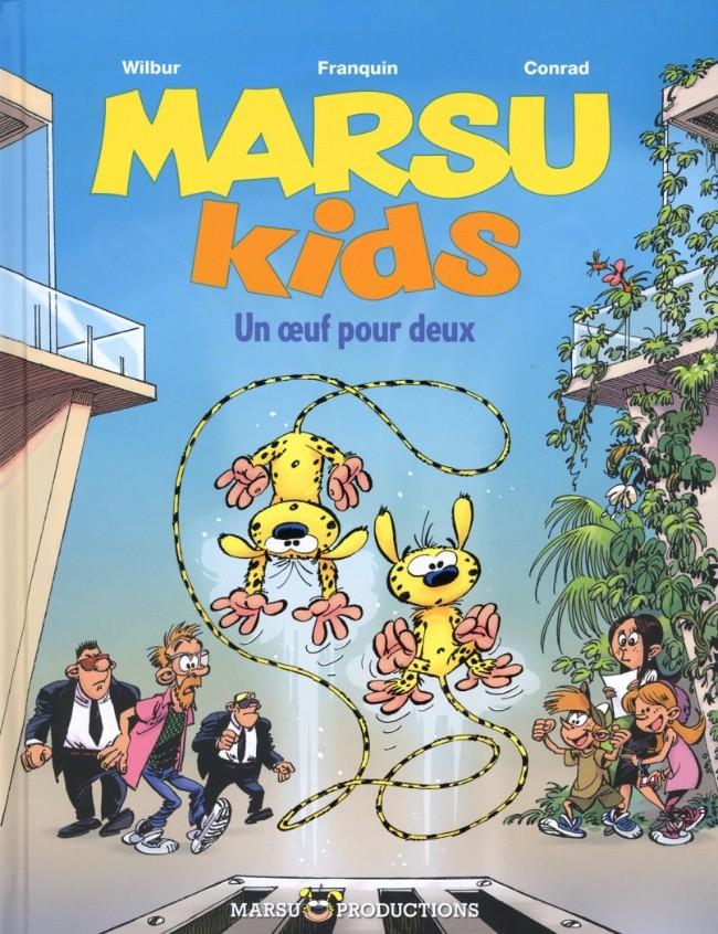 Couverture de Marsu Kids -2- Un œuf pour deux